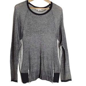 Democracy Active Duty sweater w/zipper detail F22